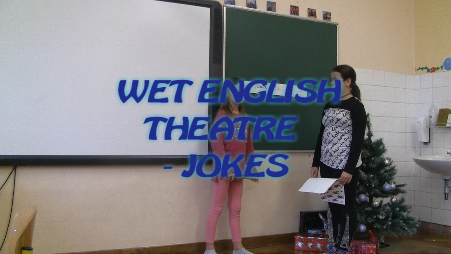 WET ENGLISH THEATRE - JOKES